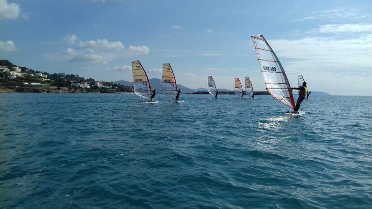 Πανελλήνιο Πρωτάθλημα wind surfing  ΒIC TECHNO 293 & 293 PLUS