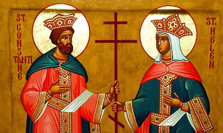 Σήμερα 21 Μαΐου: Κωνσταντίνου και Ελένης
