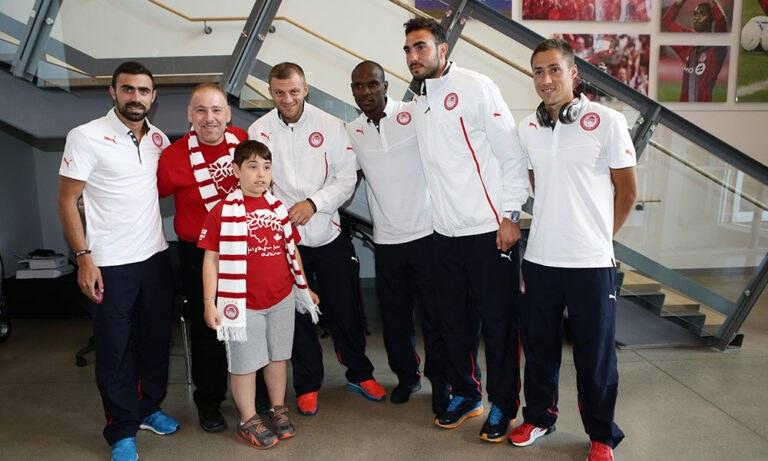 Ολυμπιακός: Συνάντηση με Ρομπέρτο, Αμπιντάλ! (photo)