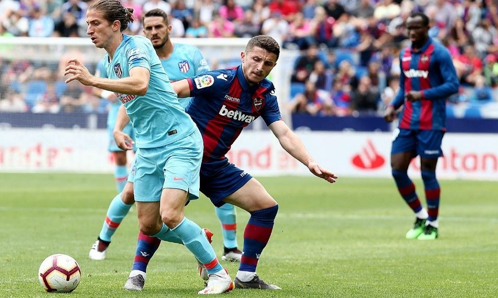 La Liga: Έμειναν στο «X» Λεβάντε και Ατλέτικο