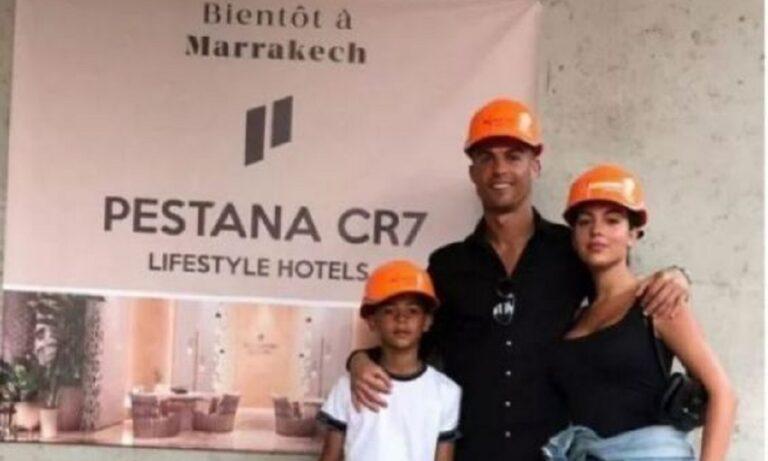 Ο Ρονάλντο στο Μαρακές επέβλεψε τα έργα για το ξενοδοχείο του