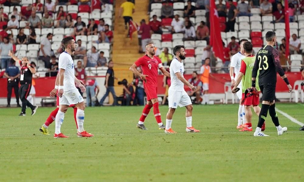 Τουρκία – Ελλάδα 2-1: Πολλές δοκιμές ενόψει Euro 2020