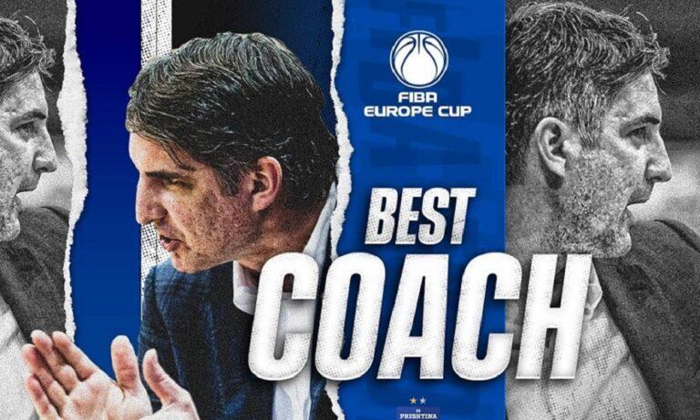 Μουλαομέροβιτς: Προπονητής της χρονιάς στο FIBA Europe Cup (pic)