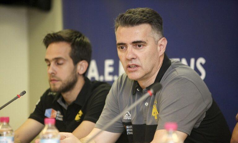 AEK: Παραιτήθηκε ο Γραμματικός