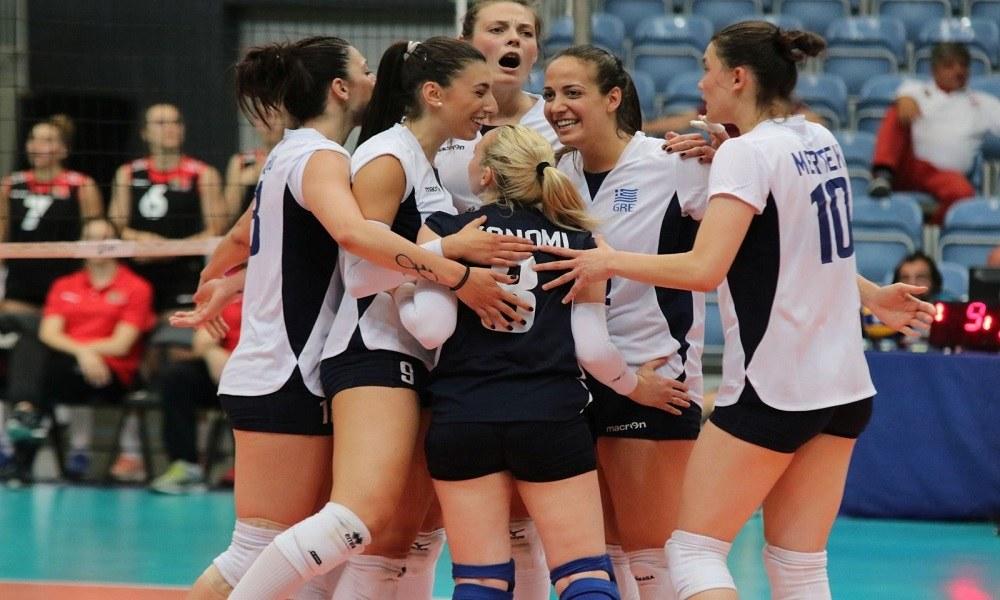 Εθνική βόλεϊ γυναικών: Αρχή με νίκη στο European League