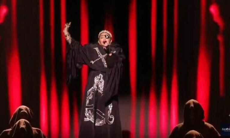 Madonna: Η εμφάνιση της στον τελικό της Eurovision (vid)