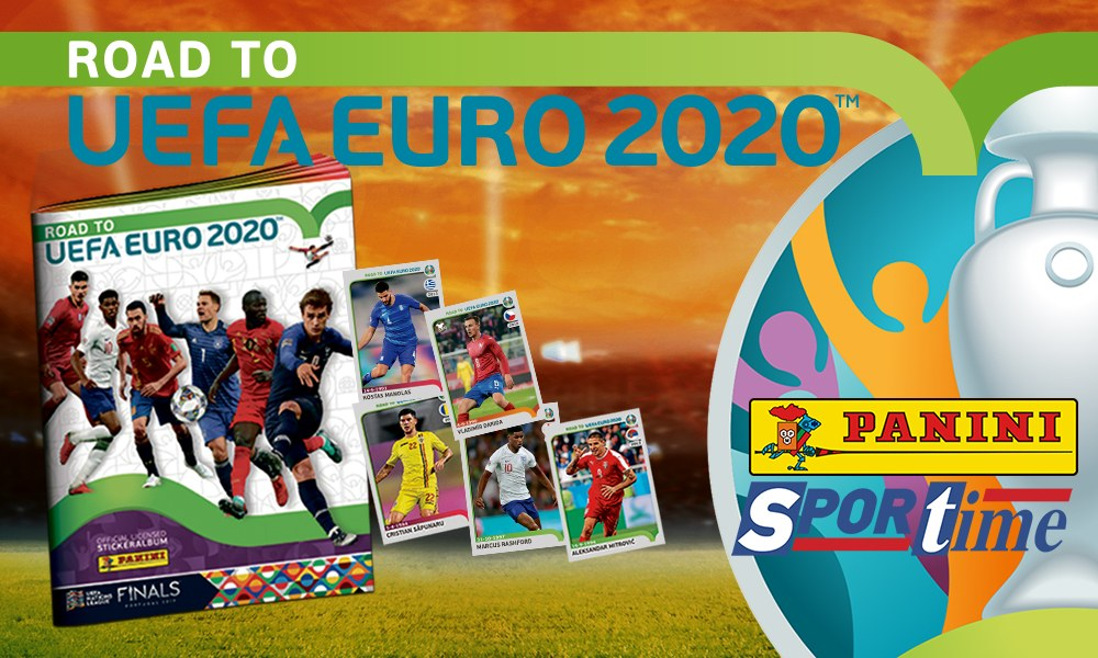 Sportime Panini–Road to Euro2020: Συνεχίζεται η προσφορά!