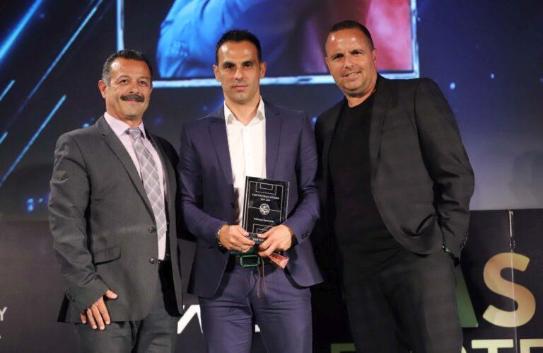 Προπονητής της χρονιάς στην Κύπρο ο Πουρσαϊτίδης