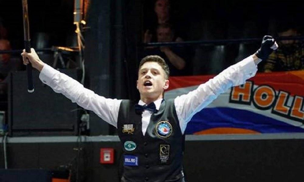 Μπιλιάρδο: Πρωταθλητής Ευρώπης U17 o Σελεβεντάς