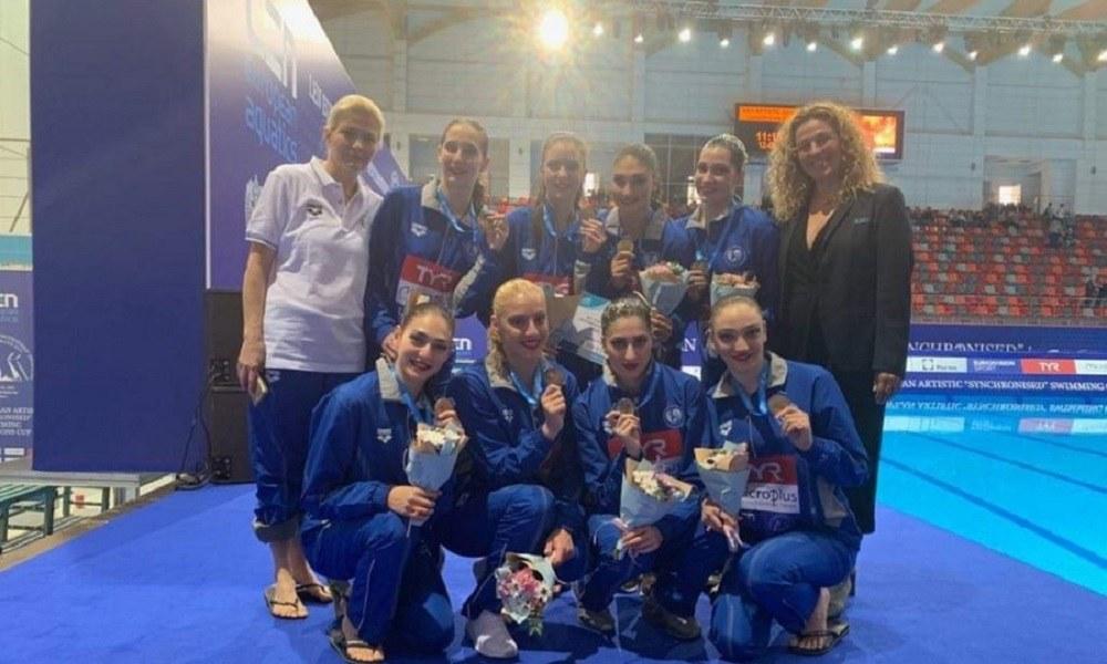 Συγχρονισμένη κολύμβηση: Δεύτερο μετάλλιο για την Ελλάδα