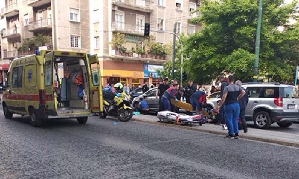 Σοβαρό τροχαίο στην Πατησίων – Σε κρίσιμη κατάσταση δύο γυναίκες (vid)