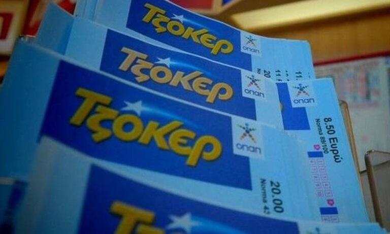 ΤΖΟΚΕΡ: Στα πρακτορεία και στο tzoker.gr συνεχίζεται το κυνήγι των 3,8 εκατ. ευρώ