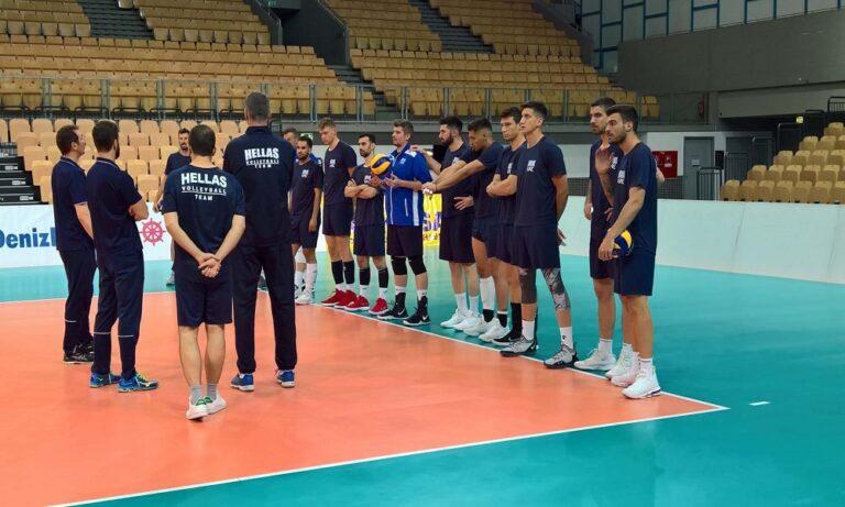 Εθνική βόλεϊ ανδρών: Αρχή στην Αυστρία για το European League
