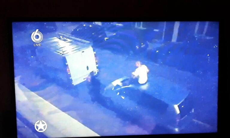 Σνάιντερ: Μέθυσε και κατέστρεψε ξένο αυτοκίνητο (vid)