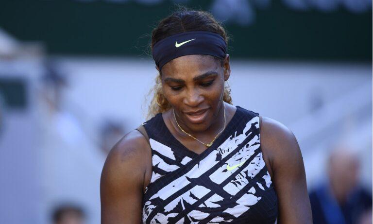 Σερένα Γουίλιαμς: Αποκλεισμός σοκ από το Roland Garros!