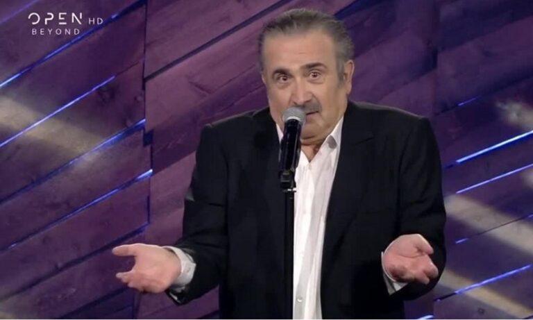 Λάκης Λαζόπουλος: «Τελειώνει» από το Open!