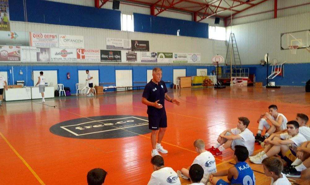 Άρχισε το «Μουδανιά Basketball Camp» (vid+pics)