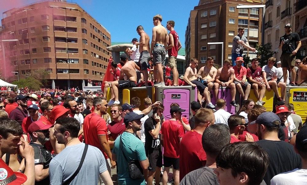 Τελικός Champions League: Κατακόκκινη Μαδρίτη(vids+pics)