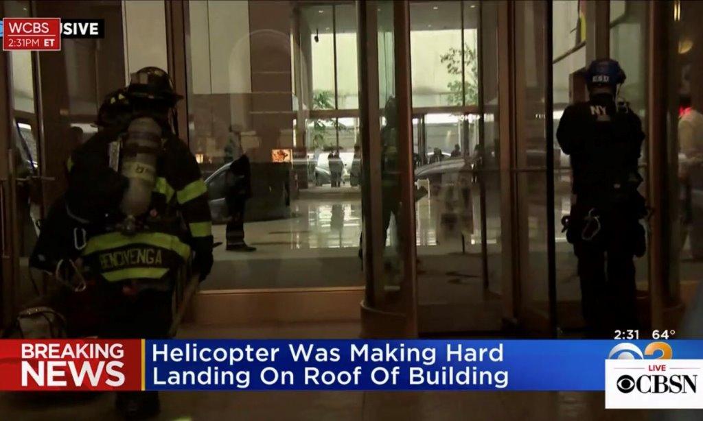 Νέα Υόρκη: Ελικόπτερο έπεσε σε ουρανοξύστη