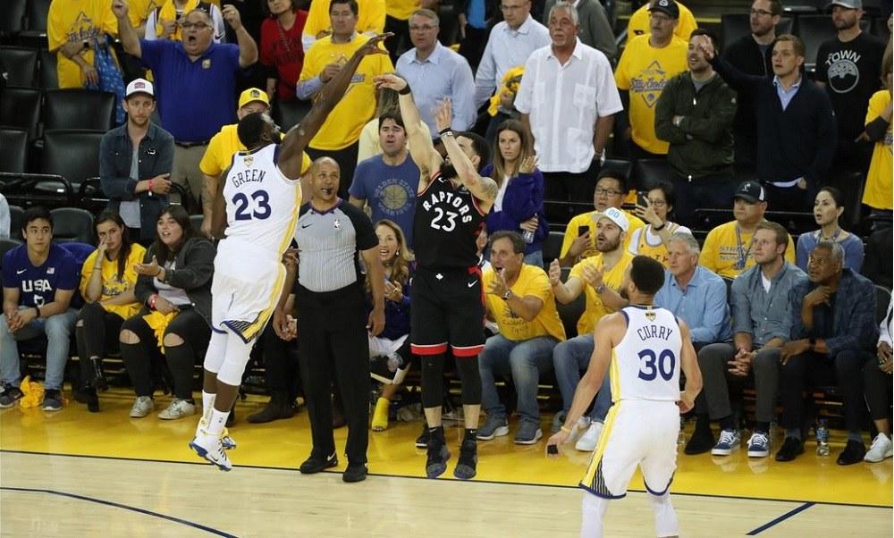 Τελικοί NBA: Το Τορόντο νίκησε τον… Κάρι και 2-1 (vids)