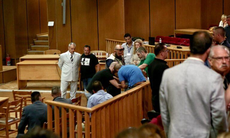 Δίκη Χρυσής Αυγής: Kατέρρευσε ο κατηγορούμενος Πατέλης