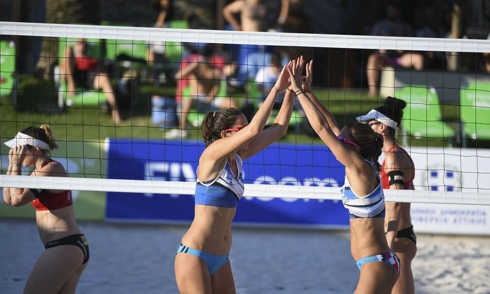 Beach Volley: Ηρωική προσπάθεια και πρόκριση για Αρβανίτη, Καραγκούνη