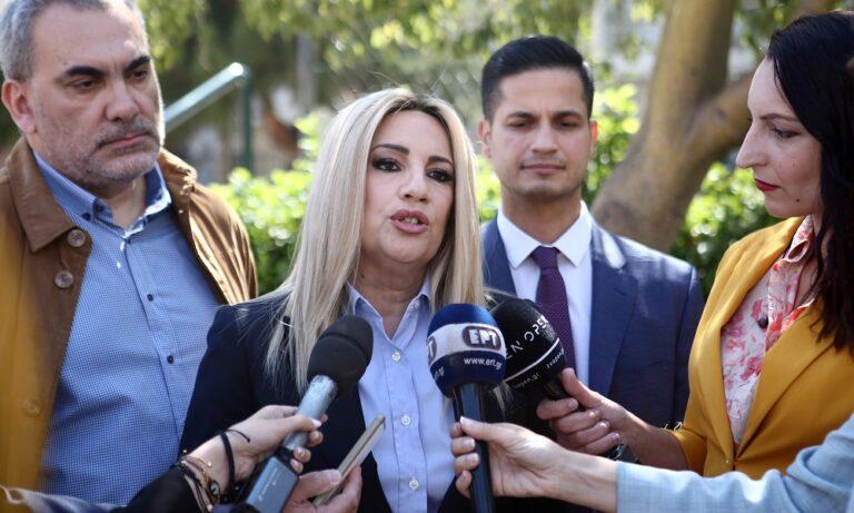Γεννηματά: «Λυπάμαι για την απόφαση Βενιζέλου»