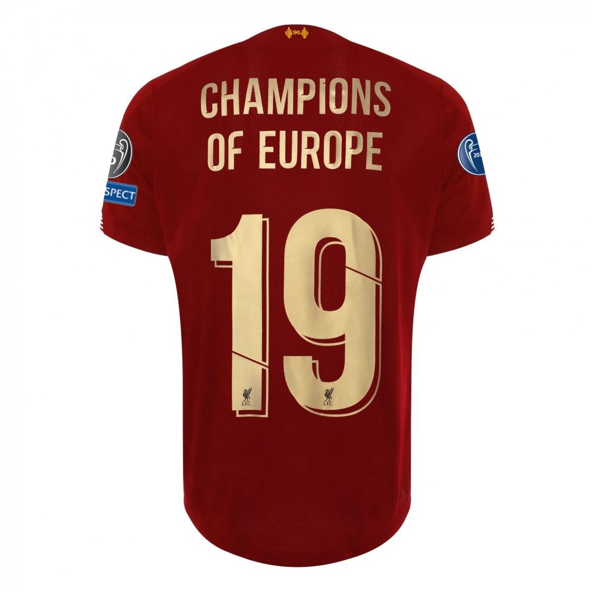 H Λίβερπουλ είναι η νέα πρωταθλήτρια Ευρώπης. Και η νέα σεζόν, η οποία θα αρχίσει σε περίπου 2 μήνες θα έχει μία σημαντική αλλαγή στη φανέλα της.
