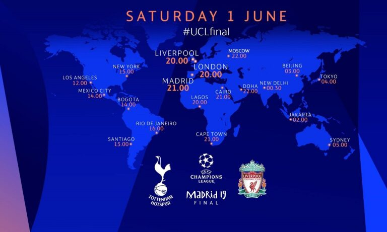 Τότεναμ-Λίβερπουλ: Εδώ θα δείτε τον τελικό του Champions League