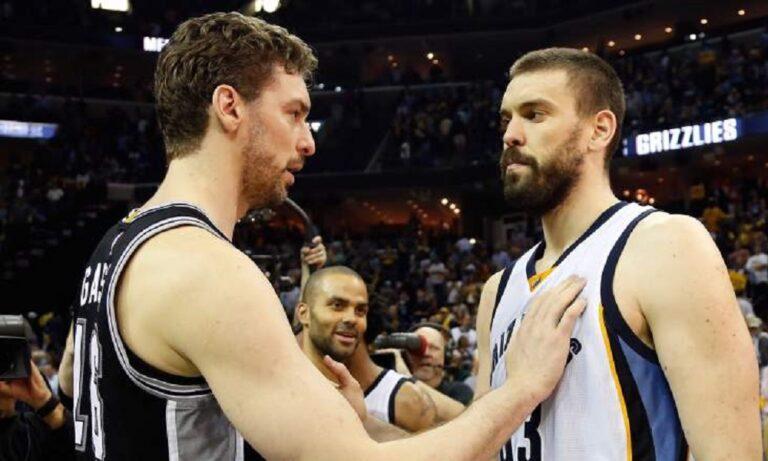 Μαρκ και Πάου Γκασόλ: Μοναδικό επίτευγμα στο NBA (vid)