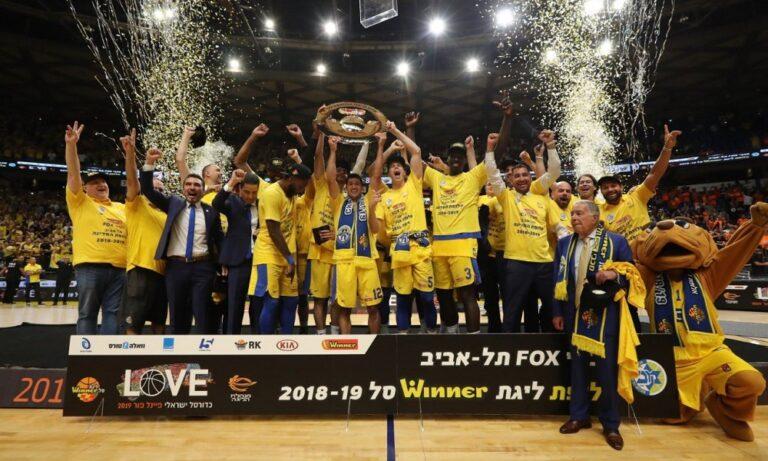 Σφαιρόπουλος: Πρωταθλητής Ισραήλ με την Μακάμπι