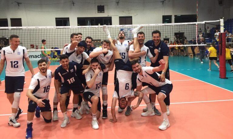 Silver European League: Στον τελικό η Ελλάδα, 3-0 τη Βοσνία