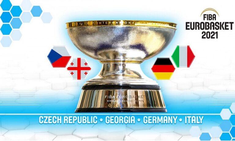 Ευρωμπάσκετ 2021: Οι τέσσερις διοργανώτριες χώρες