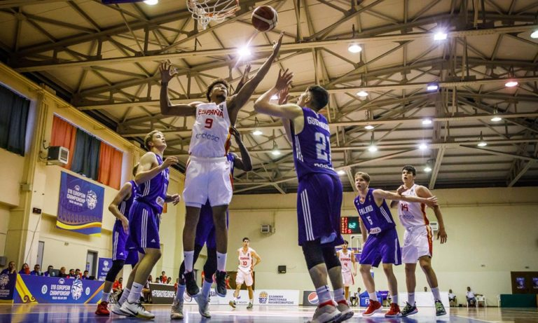 Ευρωμπάσκετ U18: Ισπανία-Φινλανδία 81-45