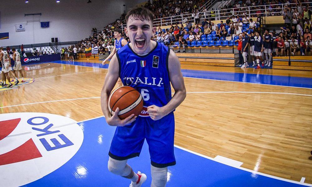 Ευρωμπάσκετ U18: Λιθουανία- Ιταλία 58-64