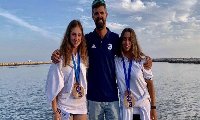 Χάλκινο μετάλλιο στο Παγκόσμιο oι Μελίνα Παππά-Μαρία Τσαμοπούλου