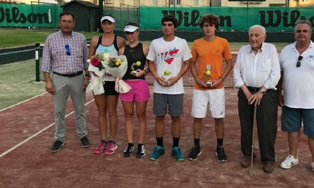 Πρωταθλητές Ξυλάς και Λάκη στα Διεθνή ITF U18