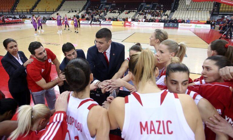 Ολυμπιακός: Με Μονπελιέ στην EuroLeague Γυναικών