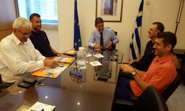 Αυγενάκης: Συνάντηση με το προεδρείο του ΠΣΑΚ