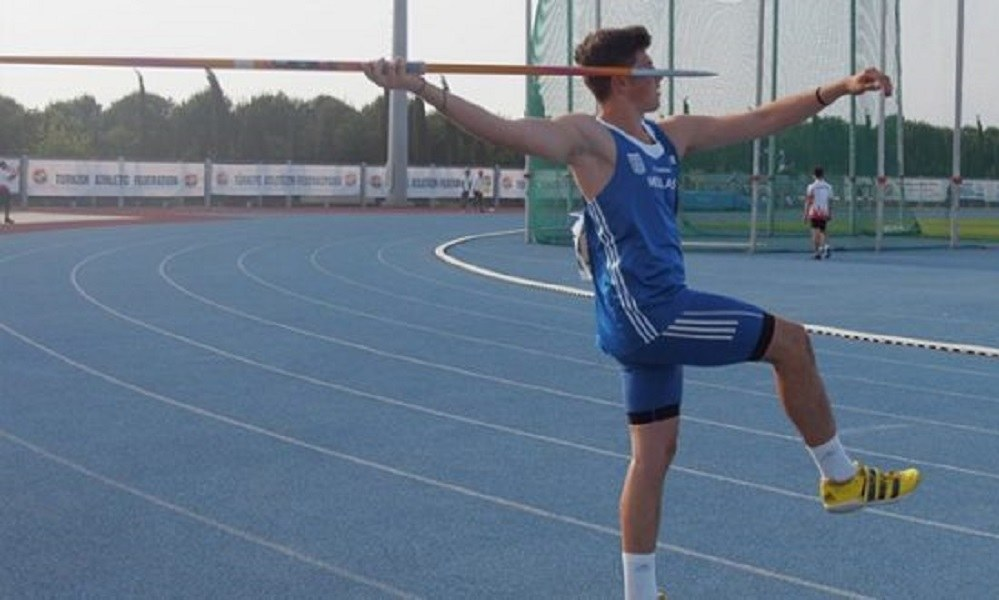 Τσίτσος: «Χάλκινος» στο Ευρωπαϊκό Πρωτάθλημα Κ20