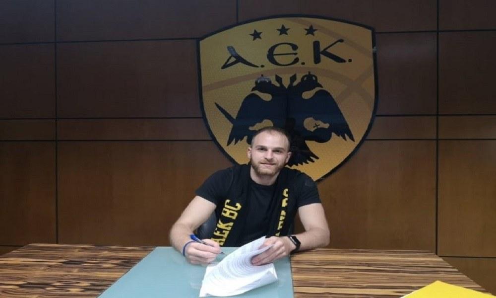 AEK : Ανακοινώθηκε και ο Κακλαμανάκης. Ο Δημήτρης Κακλαμανάκης που έκανε εξαιρετική χρονιά με το Λαύριο κι έφτασε μέχρι την Εθνική θα ανακοινωθεί άμεσα από την ΑΕΚ
