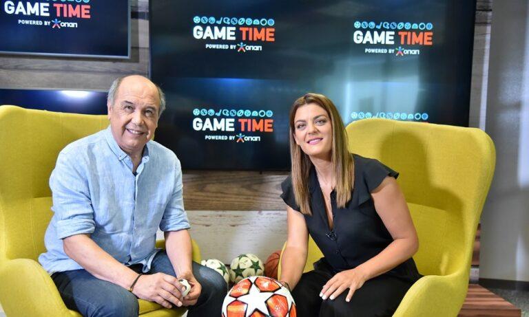 Game Time: Πρεμιέρα για τη νέα αθλητική εκπομπή του ΟΠΑΠ