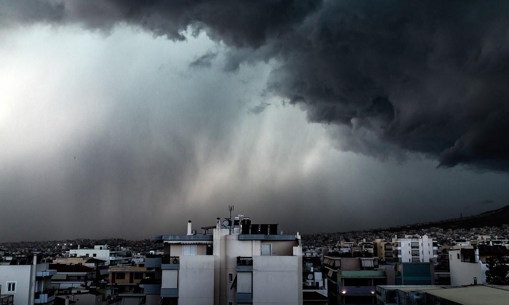 Καιρός: Έρχεται ο «Αντίνοος» -Βροχές και καταιγίδες