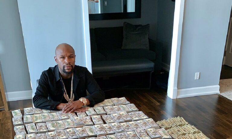 Floyd Mayweather: Απίστευτη επίδειξη πλούτου! (vids)