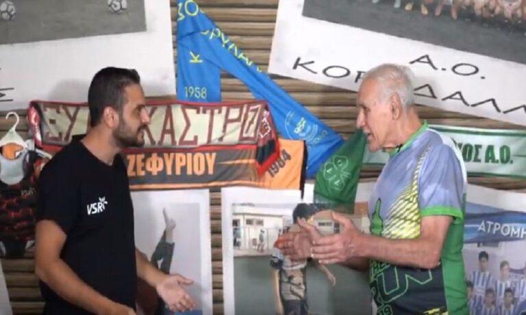 Νίκος Αλέφαντος: Πρωταγωνιστής σε διαφήμιση της εταιρείας VSR!
