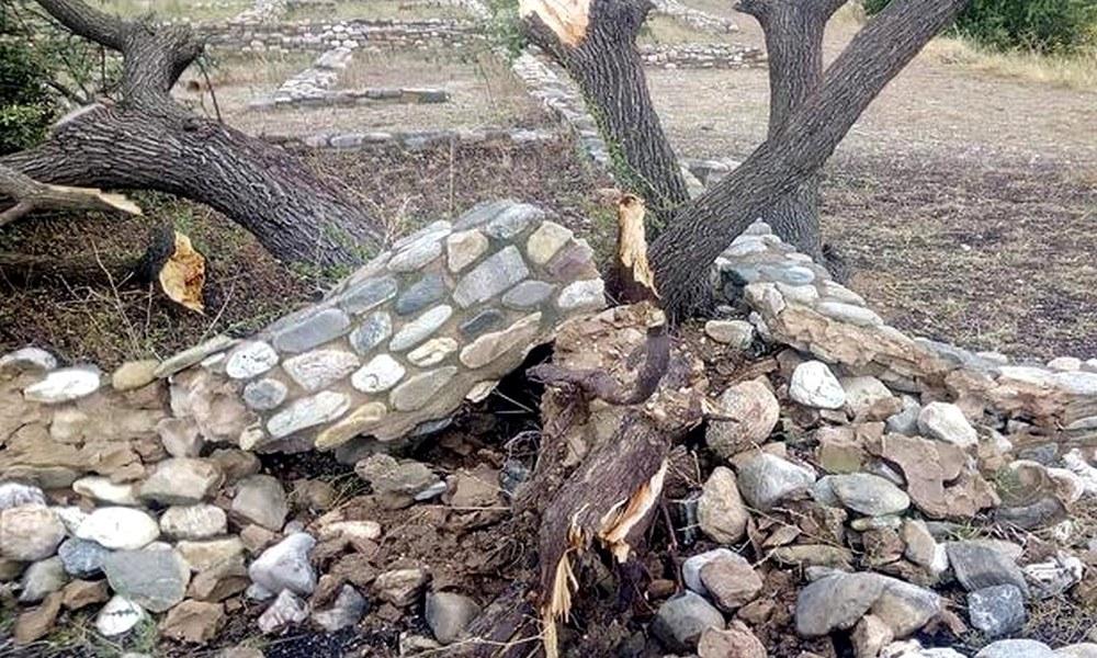 Χαλκιδική: Αποκατάσταση ζημιών σε αρχαιολογικούς χώρους
