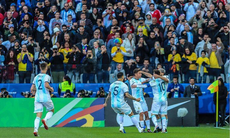 Copa America: Στην 3η θέση η Αργεντινή (vid)