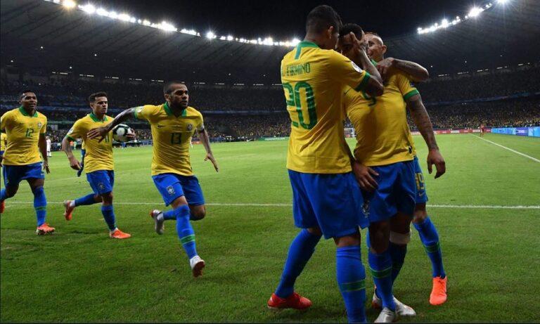 Βραζιλία – Περού 3-1: Το Κόπα Αμέρικα στη «Σελεσάο» (vids)