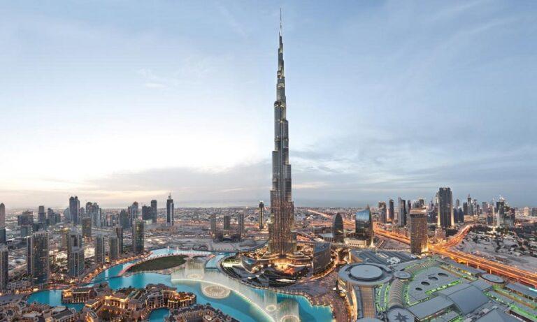 Μπουρτζ Χαλίφα: Οι αριθμοί του ψηλότερου κτιρίου στον κόσμο (vid)