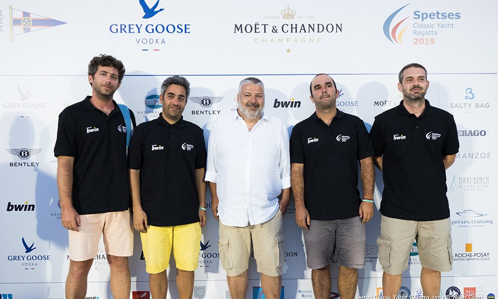 H bwin ήταν στο Spetses Classic Yacht Regatta 2019!
